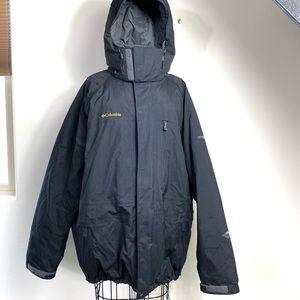 Columbia XXL Snow ski jacket black titanium